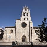 Iglesia de Lesmes Abad del santo Imagen de archivo libre de regalías