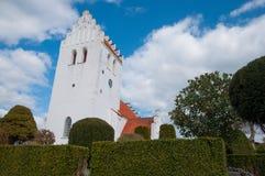 Iglesia de Lidemark en Dinamarca Foto de archivo libre de regalías