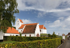 Iglesia de Lindelse Foto de archivo