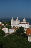 Iglesia de Lisboa San Vicente de Fora Fotos de archivo libres de regalías