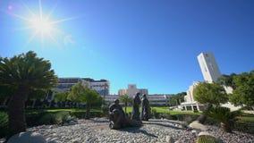 Iglesia de Loma Linda University almacen de metraje de vídeo