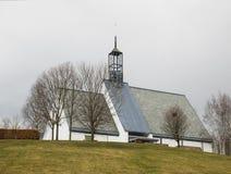 Iglesia de Lommedalen en Noruega Imagenes de archivo