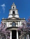 Iglesia de Londres fotografía de archivo