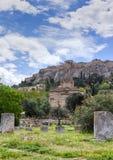 Iglesia de los apóstoles santos, Atenas, Grecia Imágenes de archivo libres de regalías