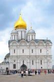 Iglesia de los arcángeles Moscú Kremlin Sitio del patrimonio mundial de la UNESCO Imagen de archivo libre de regalías