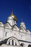 Iglesia de los arcángeles Moscú Kremlin Sitio del patrimonio mundial de la UNESCO Foto de archivo