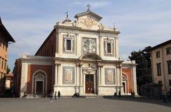 Iglesia de los caballeros de la orden de St Stephen en Pisa, Italia Fotos de archivo