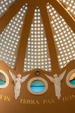 Iglesia de los campos de los pastores Imagen de archivo libre de regalías