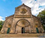 Iglesia de los santos Cyril y Methodius, Karlin, Praga, República Checa fotografía de archivo