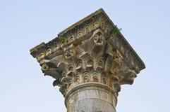 Iglesia de los SS. Trinidad. Venosa. Basilicata. Italia. Fotos de archivo
