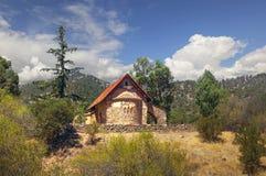 Iglesia de los tis Asinou de Panagia Pueblo de Nikitari chipre Fotos de archivo