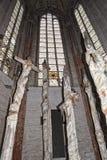 Iglesia de Lubeck fotografía de archivo