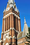 Iglesia de Lutheran de Arad Imágenes de archivo libres de regalías