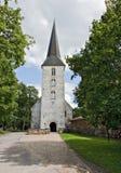 Iglesia de Lutheran en Jaunpils. Fotos de archivo libres de regalías