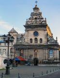 Iglesia de Lviv Fotos de archivo