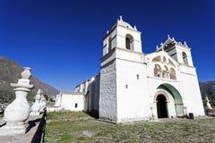 Iglesia de Maca Foto de archivo libre de regalías