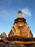 Iglesia de madera 2 Fotos de archivo