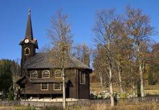 Iglesia de madera Imagen de archivo libre de regalías