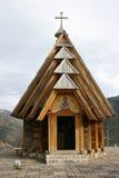 Iglesia de madera Imagenes de archivo