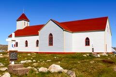 Iglesia de madera Foto de archivo libre de regalías