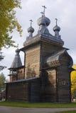 Iglesia de madera antigua Fotografía de archivo libre de regalías