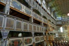 Iglesia de madera de la paz en Jawor Imagen de archivo libre de regalías