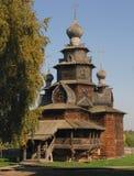 Iglesia de madera en el museo de Suzdal Fotos de archivo libres de regalías