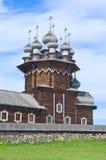 Iglesia de madera en la isla Kizhi Rusia Fotografía de archivo libre de regalías