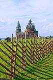 Iglesia de madera en la isla Kizhi Rusia Imagen de archivo