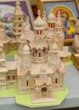 Iglesia de madera hecha a mano Imagen de archivo