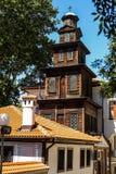 Iglesia de madera hermosa fotografía de archivo