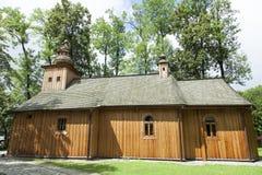 Iglesia de madera de la ciudad de Zakopane Foto de archivo libre de regalías