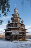 Iglesia de madera de la transfiguración Suzdal Rusia Fotos de archivo libres de regalías
