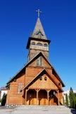 Iglesia de madera ortodoxa, Brasov Imagen de archivo libre de regalías