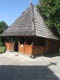 Iglesia de madera rústica Imagen de archivo libre de regalías