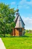 Iglesia de madera de San Nicolás en Suzdal Imagenes de archivo