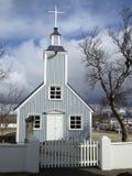 Iglesia de madera típica en la isla Imagen de archivo