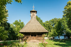Iglesia de madera tradicional Imagen de archivo