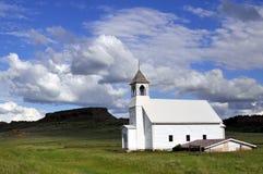 Iglesia de madera vieja Fotografía de archivo
