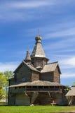 Iglesia de madera vieja Fotos de archivo libres de regalías