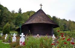 Iglesia de madera vieja I Foto de archivo libre de regalías