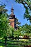 Iglesia de madera vieja, Uzhgorod, Ucrania Imagen de archivo libre de regalías