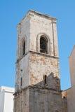 Iglesia de madre de Polignano una yegua Puglia Italia Foto de archivo libre de regalías