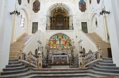 Iglesia de madre de St. Pedro. Putignano. Puglia. Italia. foto de archivo libre de regalías