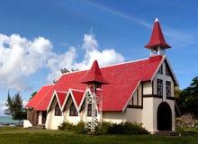 Iglesia de Malheureux del casquillo - Isla Mauricio foto de archivo