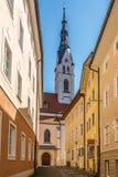 Iglesia de Maria Assumption Day en mún Tolz - Alemania Fotografía de archivo libre de regalías