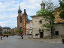 Iglesia de Mariacki Fotografía de archivo libre de regalías