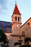 Iglesia de Markâs del santo en Makarska Imágenes de archivo libres de regalías