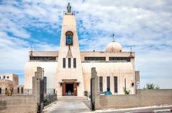 Iglesia de Maronite del anuncio Nazaret Foto de archivo libre de regalías