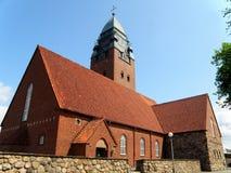 Iglesia de Masthuggskyrkan, una iglesia impresionante encima de la colina de Goteborg Fotos de archivo libres de regalías